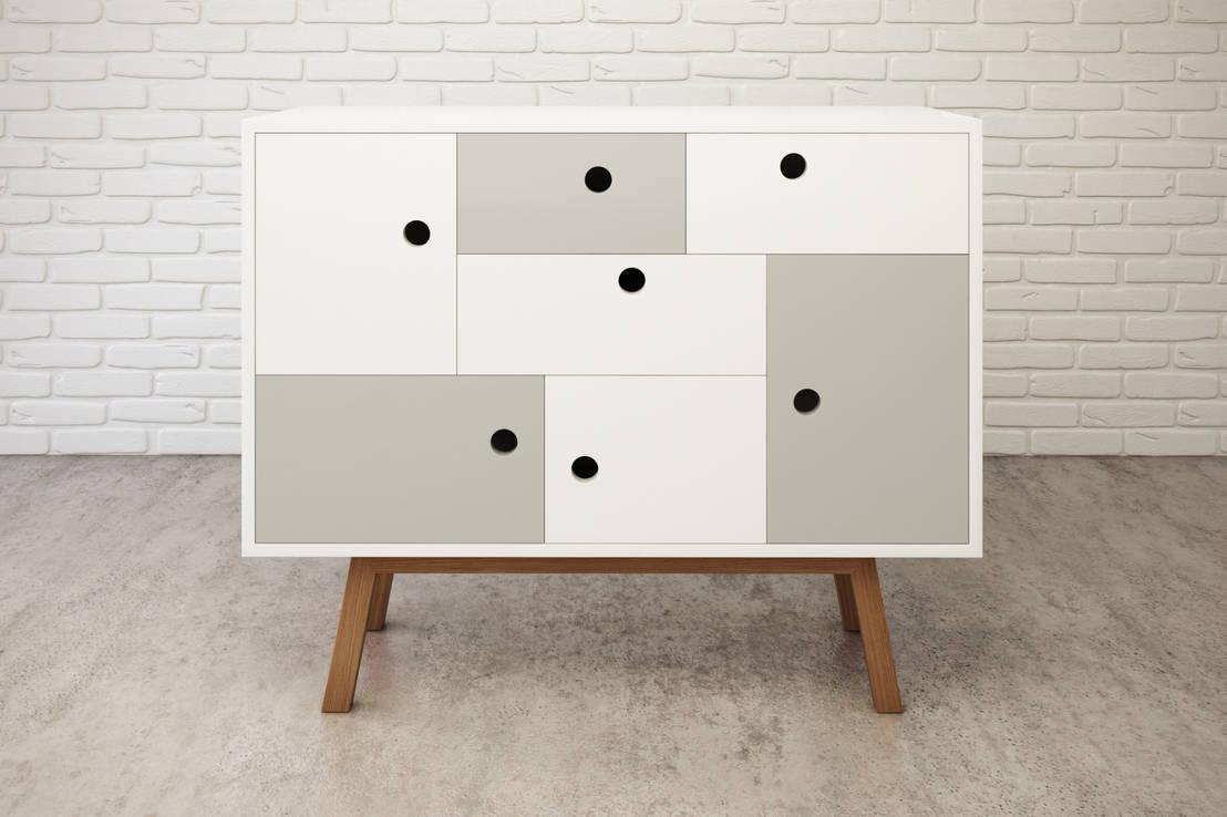 Aparadores modernos tendencias originales para tu recibidor - Web de muebles ...