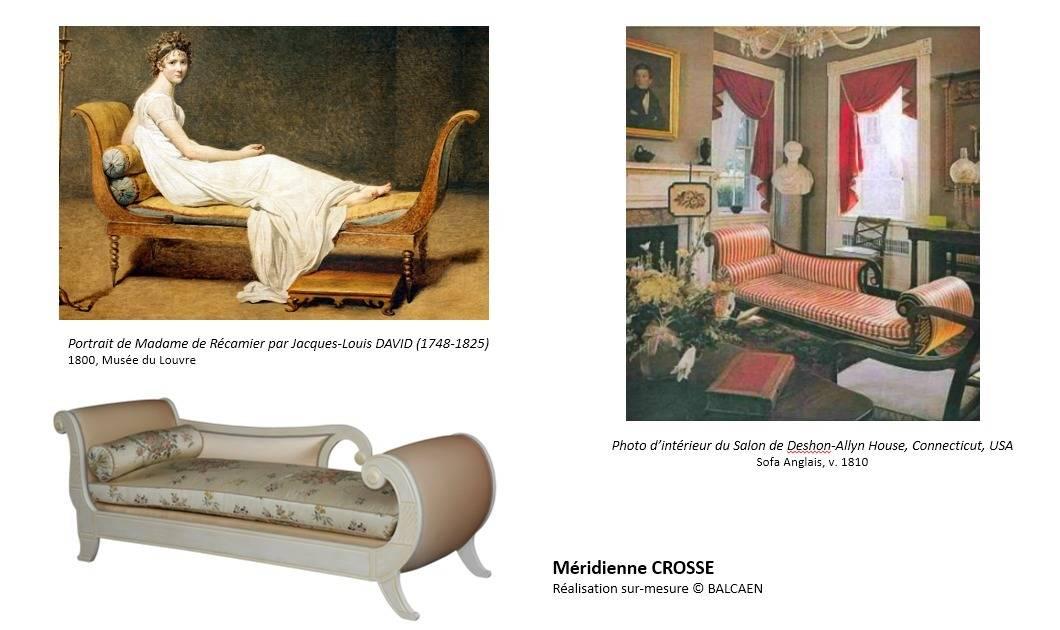 Salon de style directoire par balcaen mobilier de style - Salon du mobilier paris ...