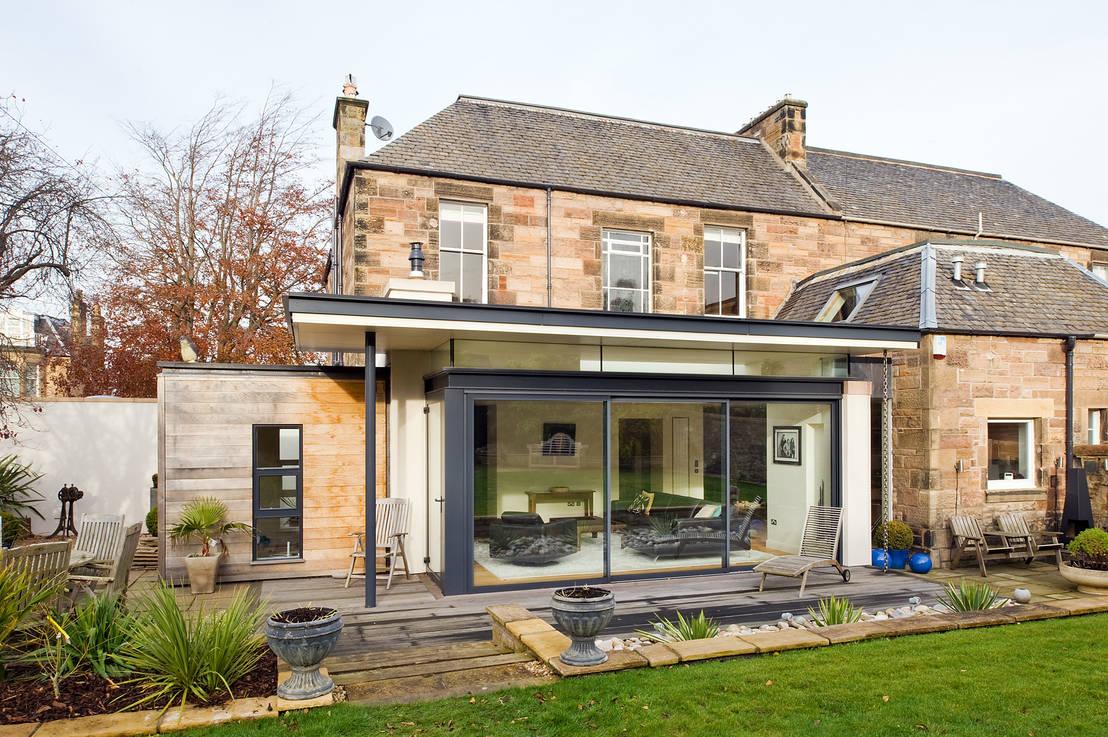Prachtige uitbouw voor een historische schotse woning - Stenen huis uitbreiding ...