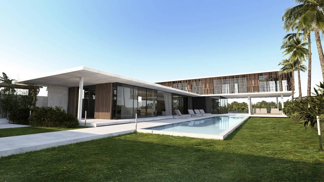 une villa extraordinaire. Black Bedroom Furniture Sets. Home Design Ideas