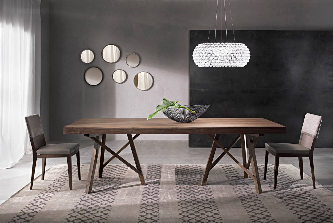 Tavoli da pranzo per una sala moderna for Tavoli pranzo legno