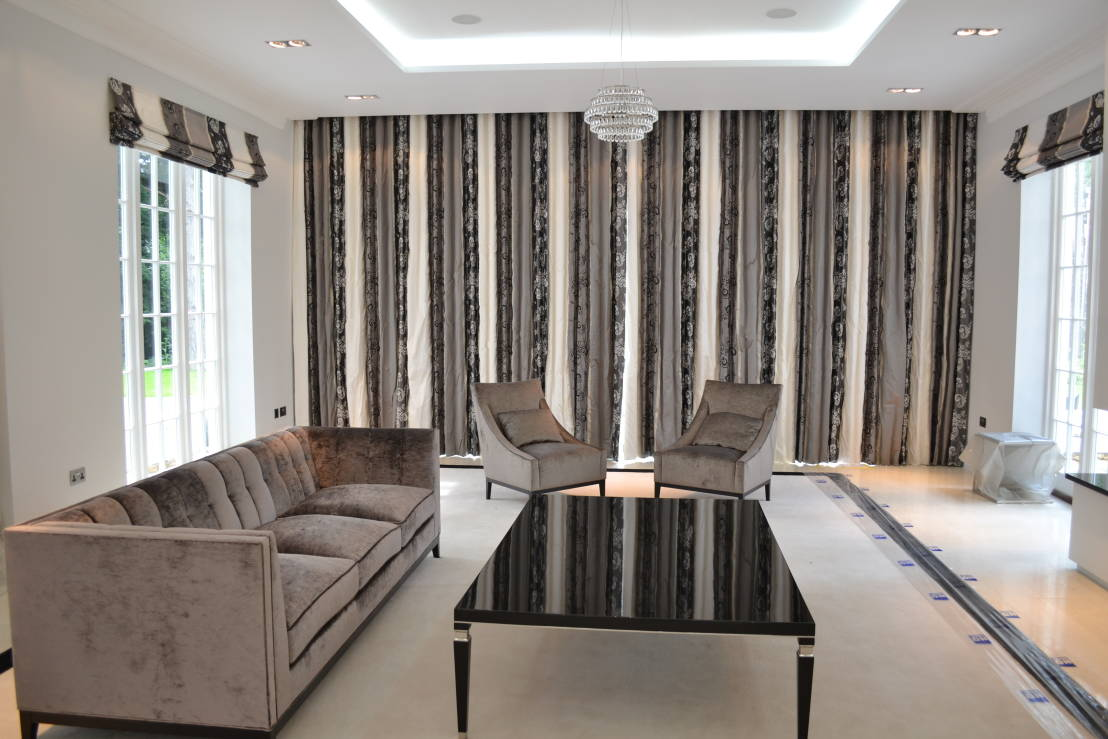 10 dise os de cortinas y persianas para casas modernas - Diseno cortinas modernas ...