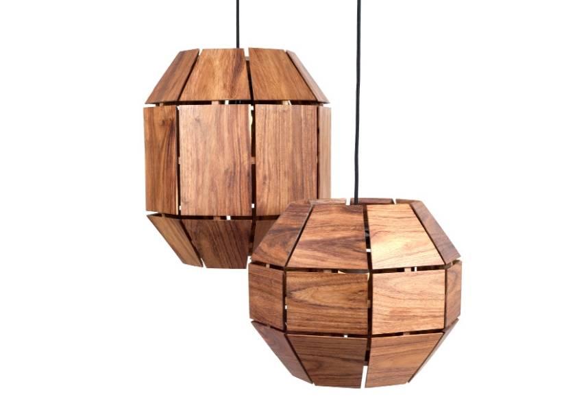 L mparas de madera iluminaci n interior con estilo - Lamparas para leer libros ...