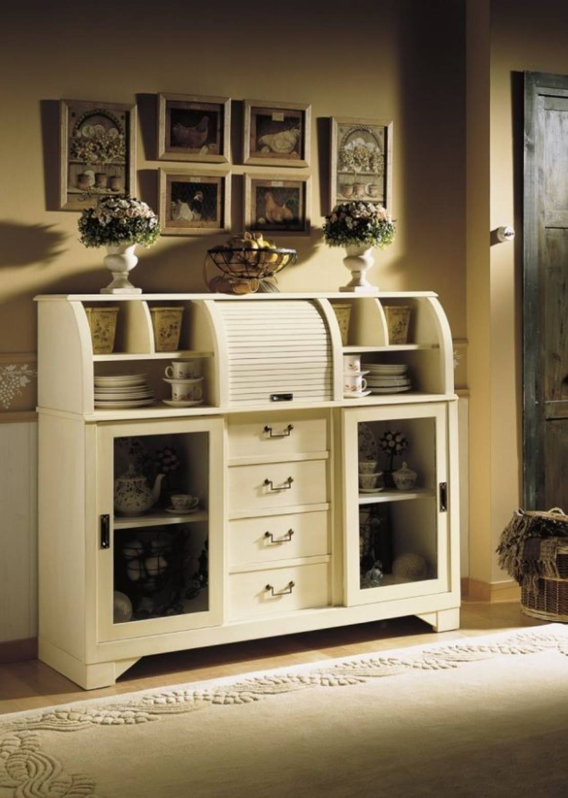 10 impresionantes muebles de estilo colonial for Muebles estilo colonial