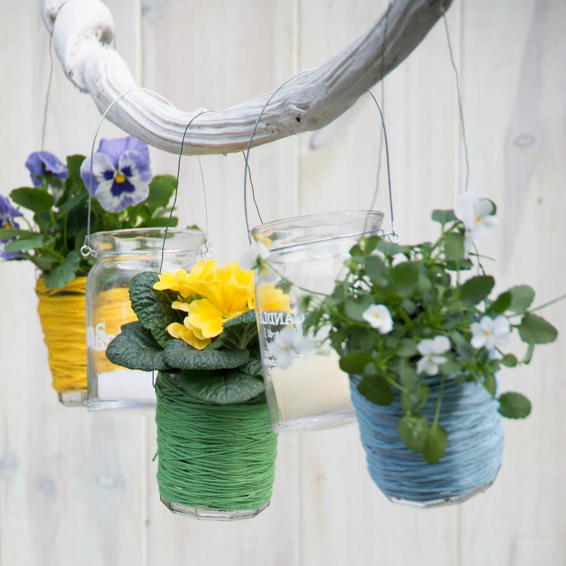 Plantas colgantes decora tus paredes con estilo y frescura for Como poner plantas en la pared