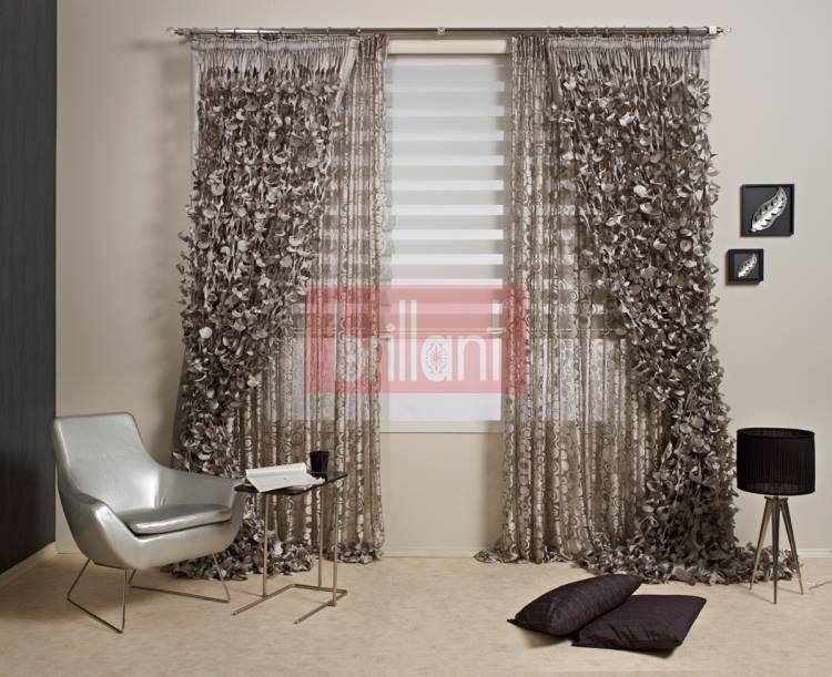 Cortinas modernas 10 dise os diferentes para vestir tu casa for Cortinas salon modernas 2016