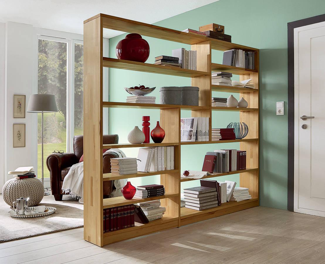 10 ideas de estantes de madera que te van a encantar - Estantes para libros ...