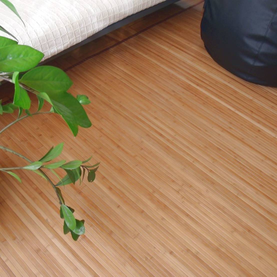 Vestir suelos con alfombras de bamb de latiendawapa homify - Suelos de bambu ...