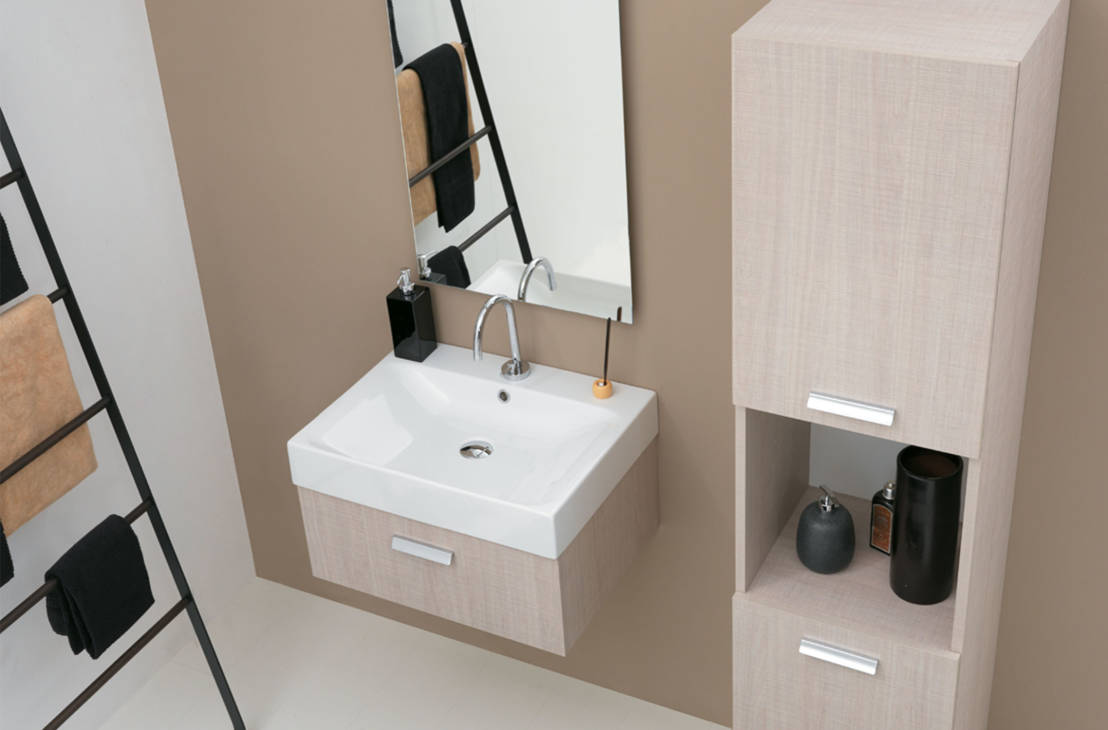 5 idee per salvare spazio in un bagno piccolo - Idee per rivestire un bagno ...
