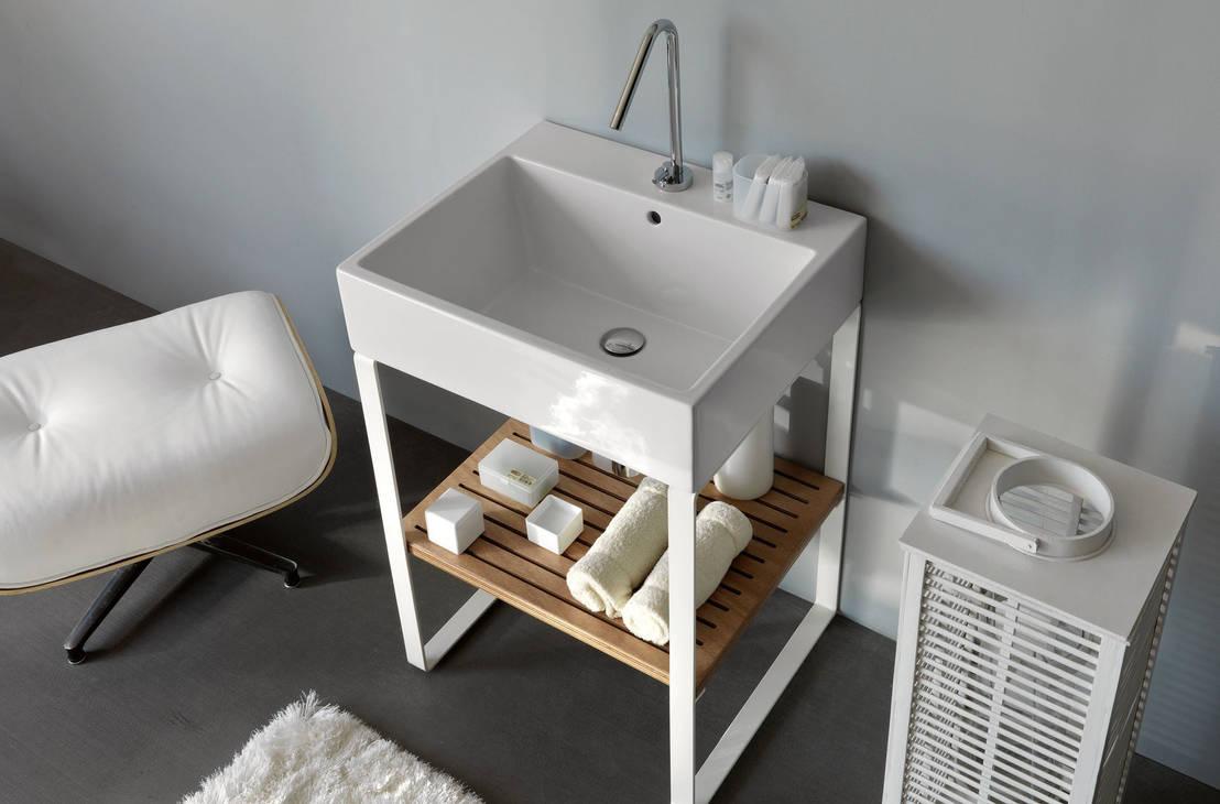 5 idee per salvare spazio in un bagno piccolo - Creare un bagno con sanitrit ...