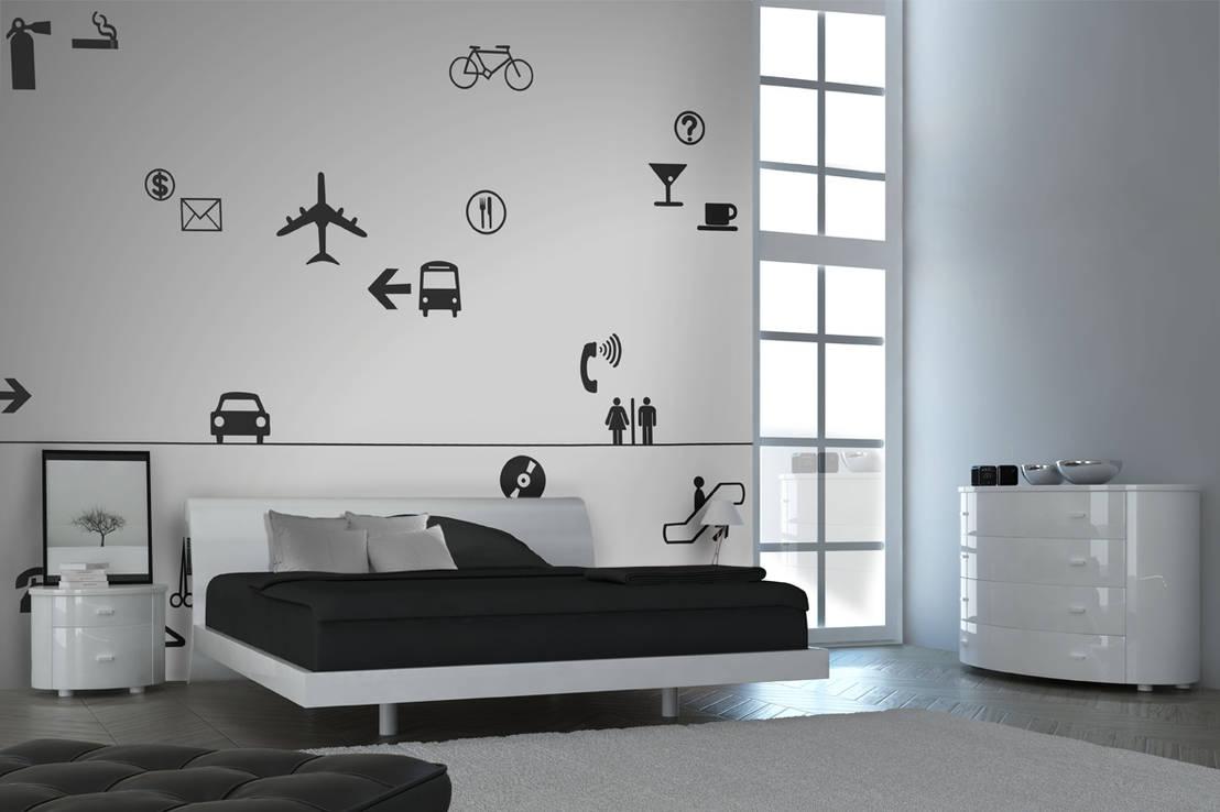 Scatenare fantasia e creativit con gli stencil murali for Stencil per pareti