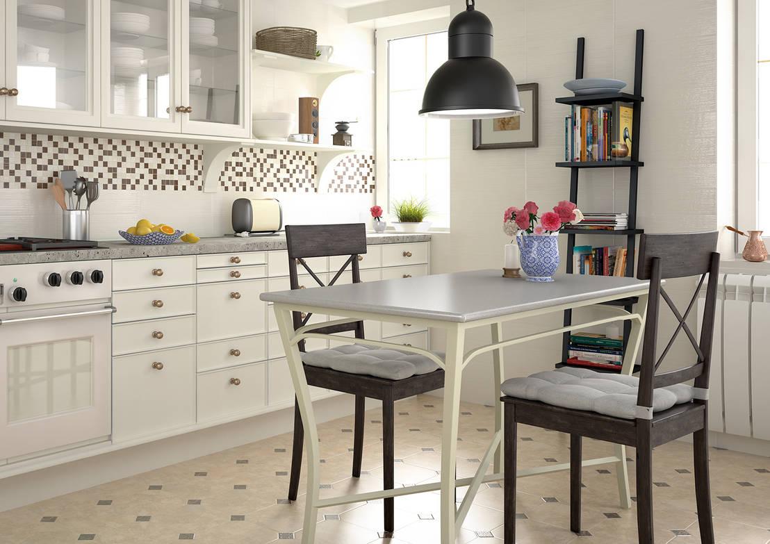 Qu suelos para la cocina for Azulejos y suelos para cocinas