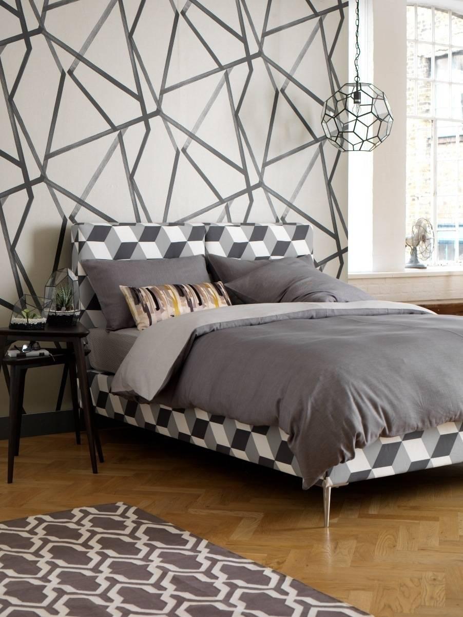 geniale ideen f r die wandgestaltung im schlafzimmer. Black Bedroom Furniture Sets. Home Design Ideas