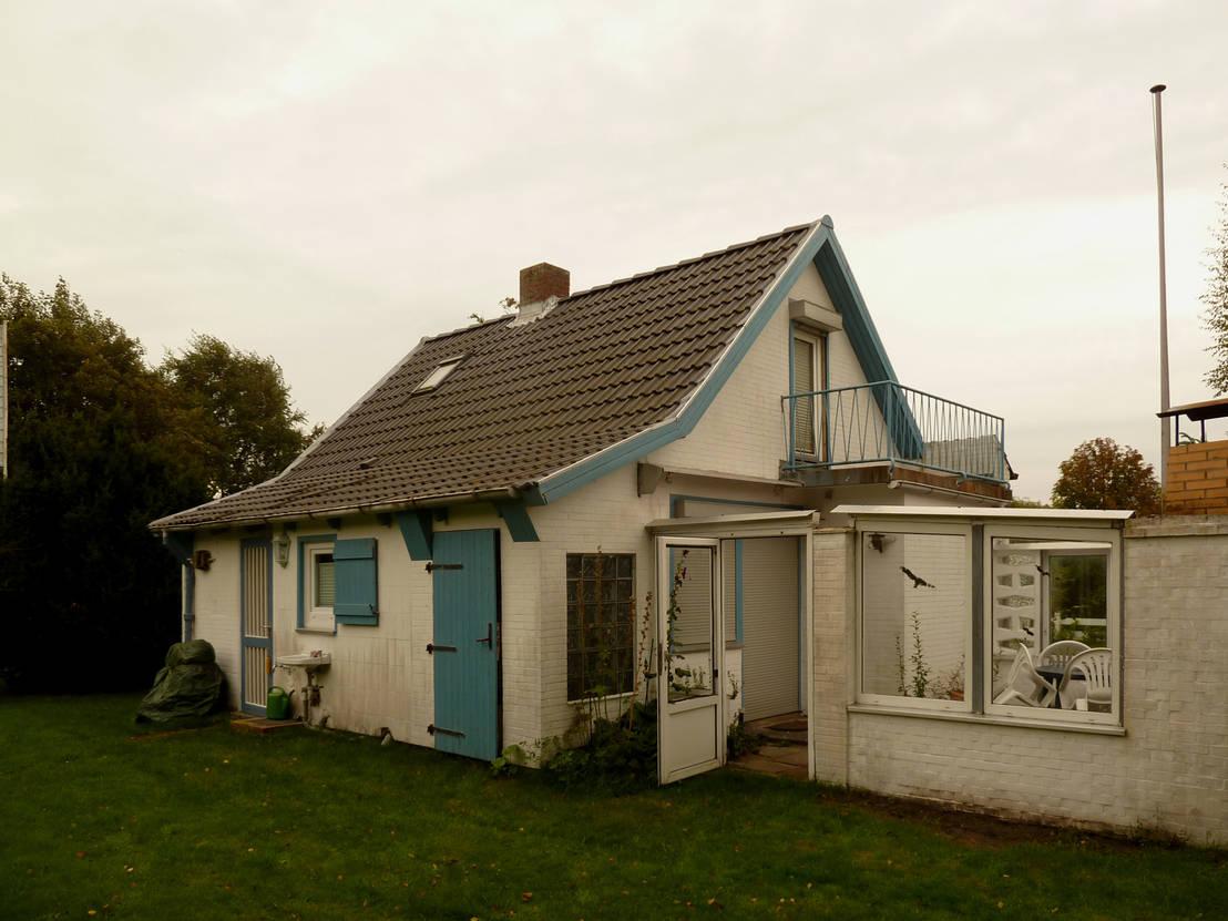 Voor en na de verbouwing van een klein huis - Voor na gerenoveerd huis ...