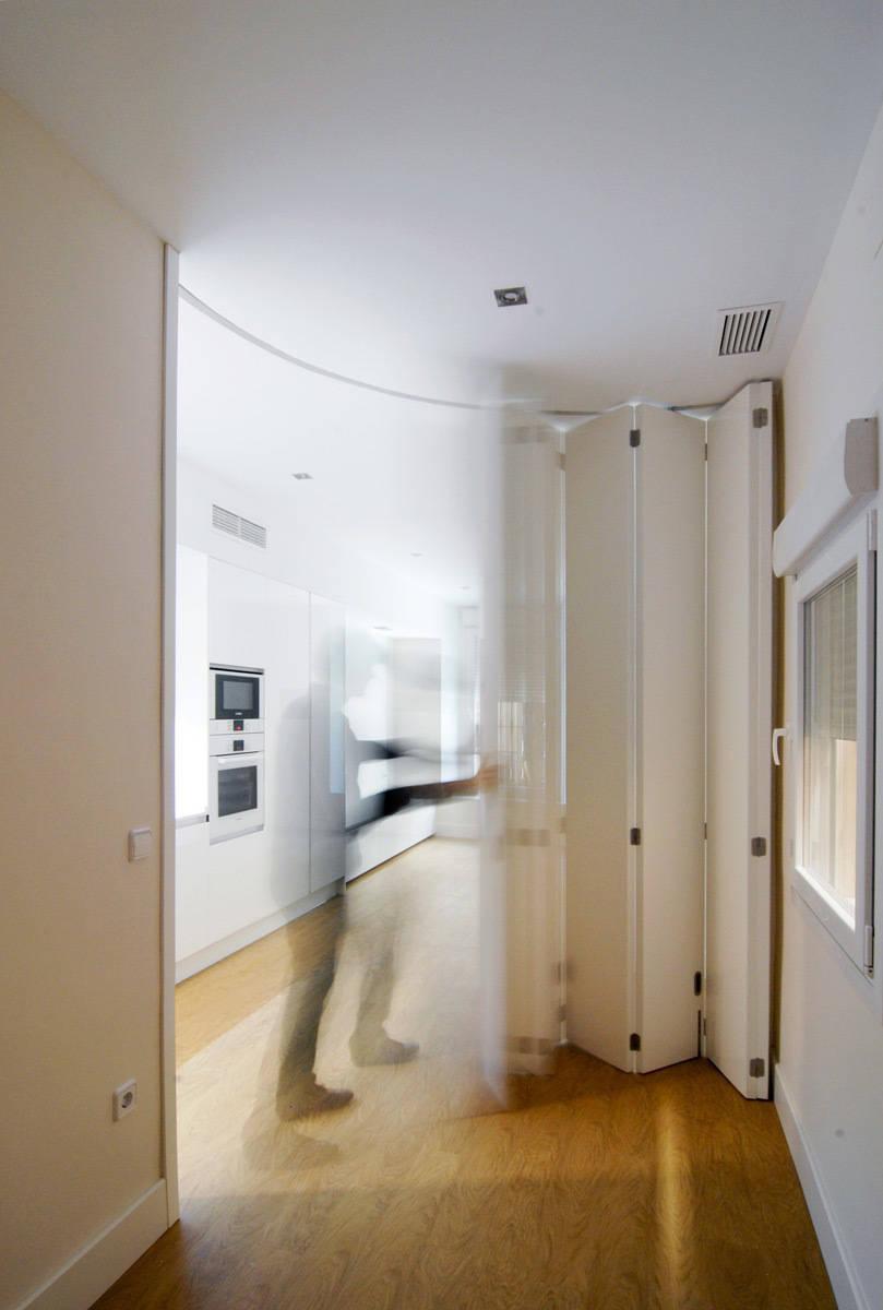 Puertas de cocina o c mo integrar la cocina en el sal n - Puertas de salon ...