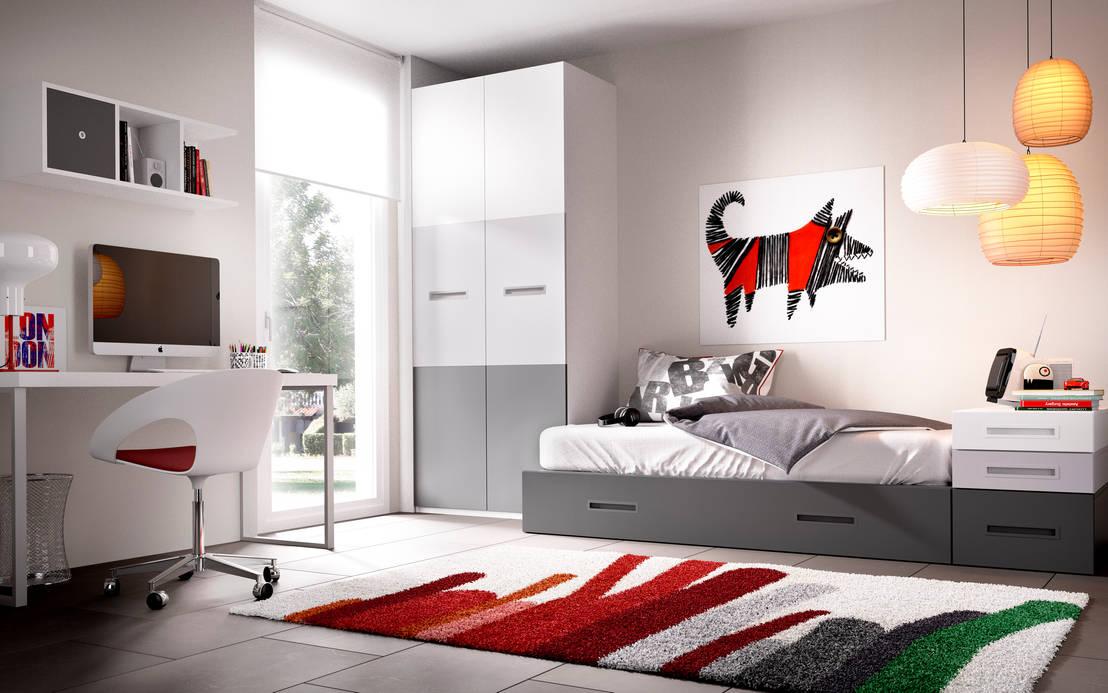 Aqu las mejores camas con cajones toma nota - Dormitorios juveniles minimalistas ...