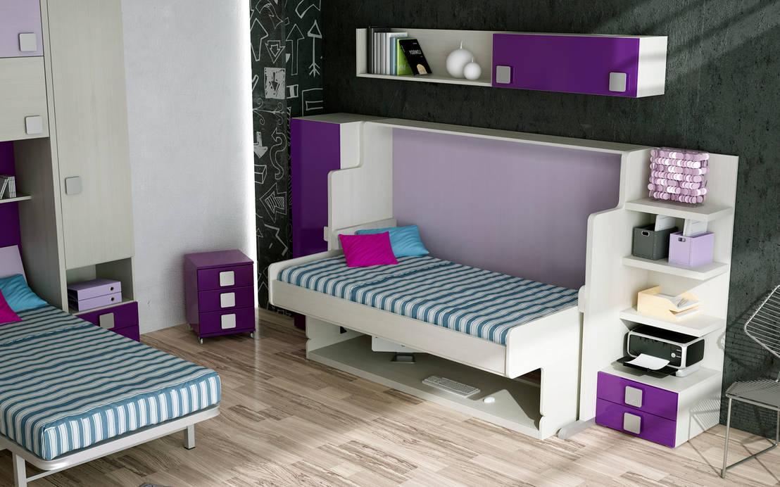 10 camas plegables muy originales for Muebles de escritorio juveniles