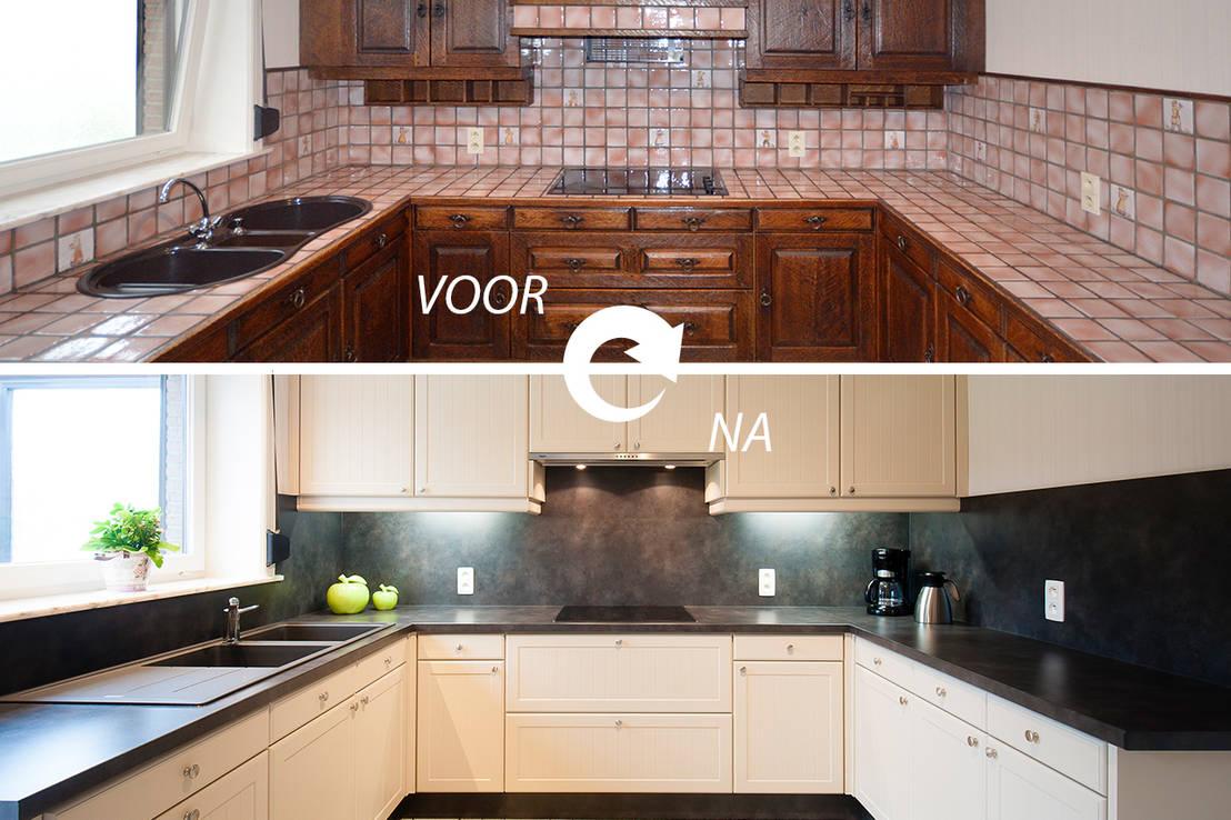 Hoe kunt u met beperkte middelen de keuken transformeren?