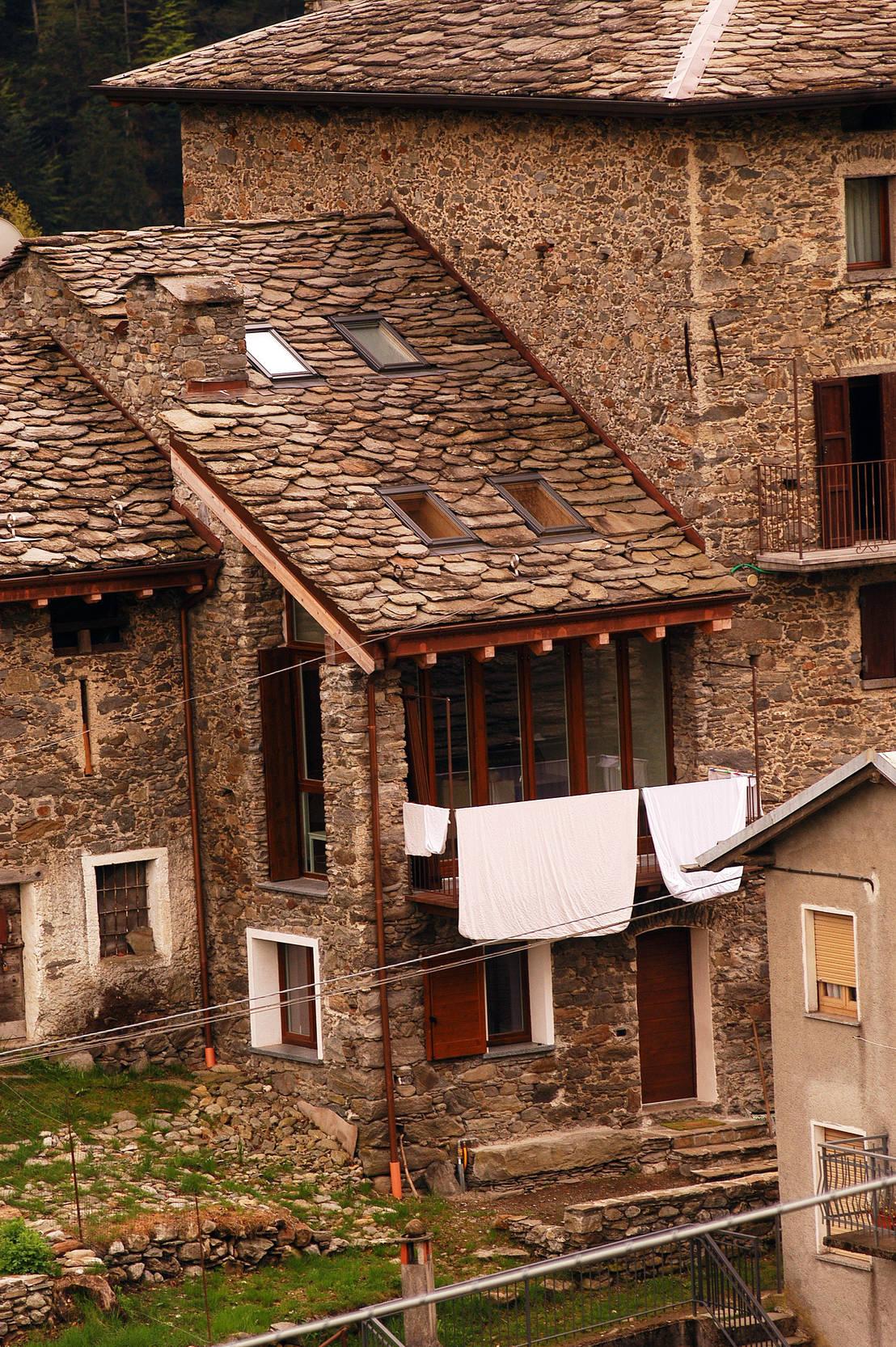 Una casa per tornare a vivere in montagna di architettura for Consulenza architetto gratuita