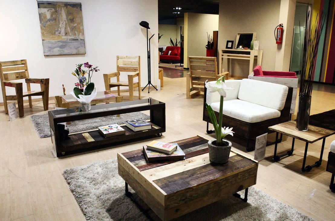8 ideas geniales muebles con tarimas de madera for Sillones hechos con tarimas