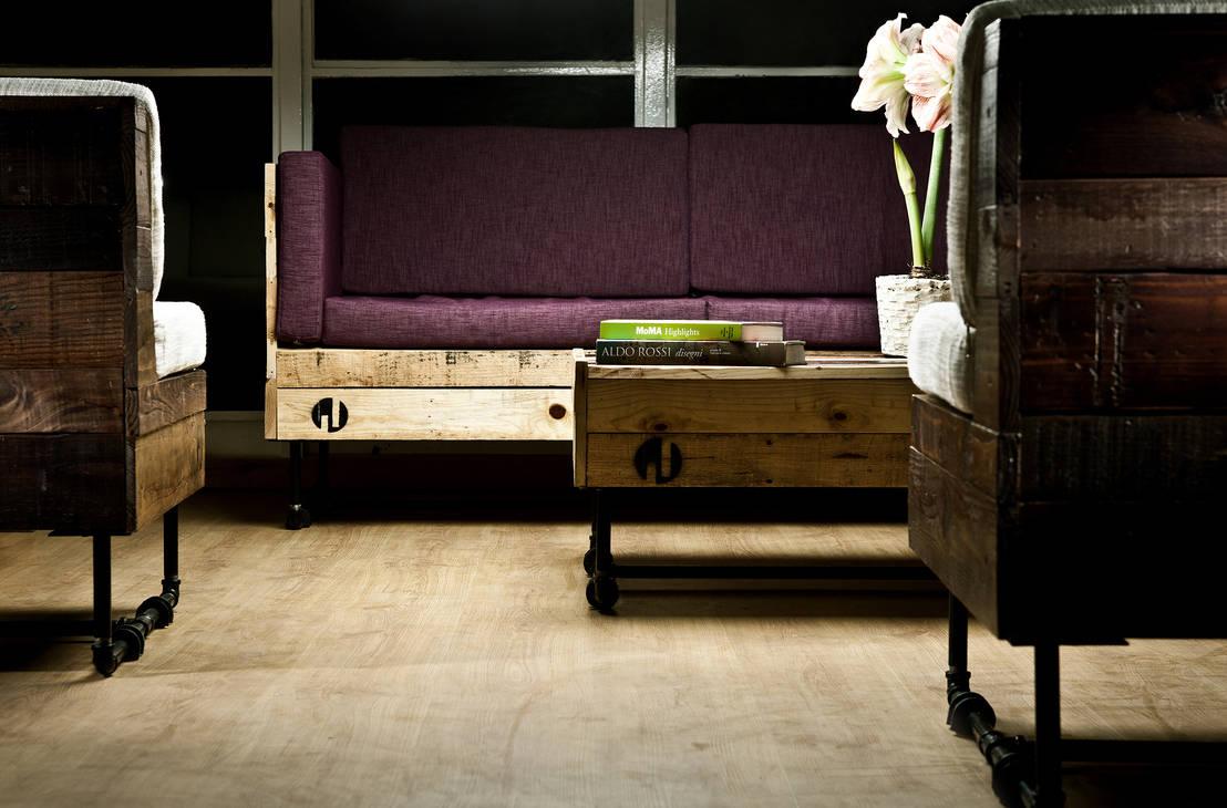 formas de incorporar muebles hechos con palets en tu casa