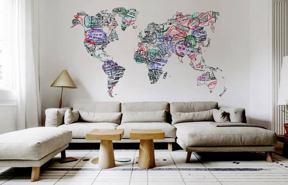 10 x interessante muurdecoratie - Muur decoratie ontwerp voor woonkamer ...