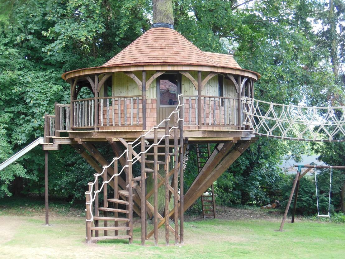 5 fun designs kids tree houses Kids tree houses