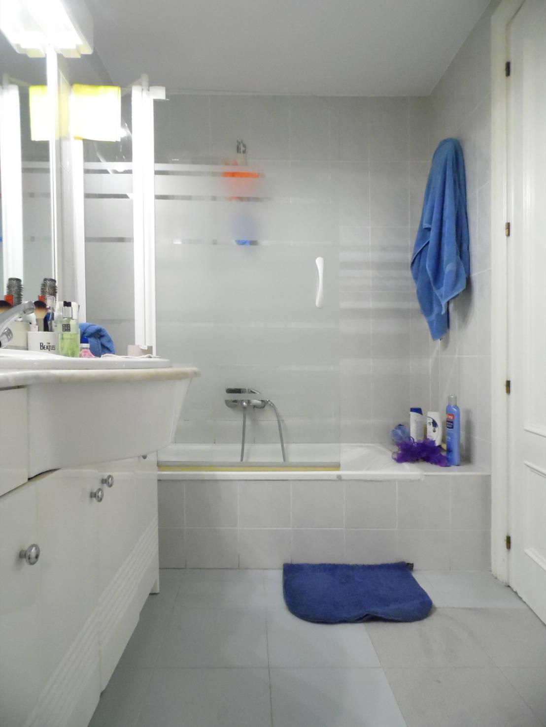 Reforma Baño Rustico:Reforma de baño rústico en Valencia de scala-proyectos