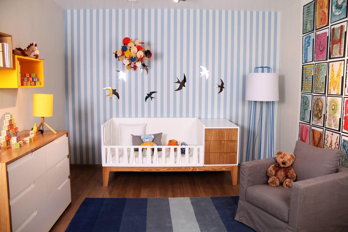 Habitaciones para beb 10 cunas y accesorios for Muebles bebe diseno