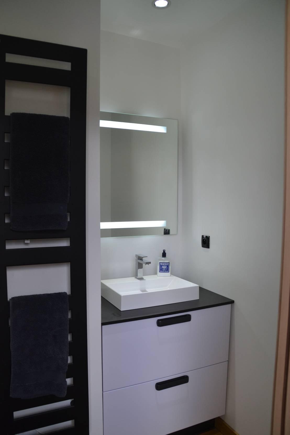 Am nagement d 39 une petite salle d 39 eau pour enfants par optireno homify - Amenagement petite salle d eau ...