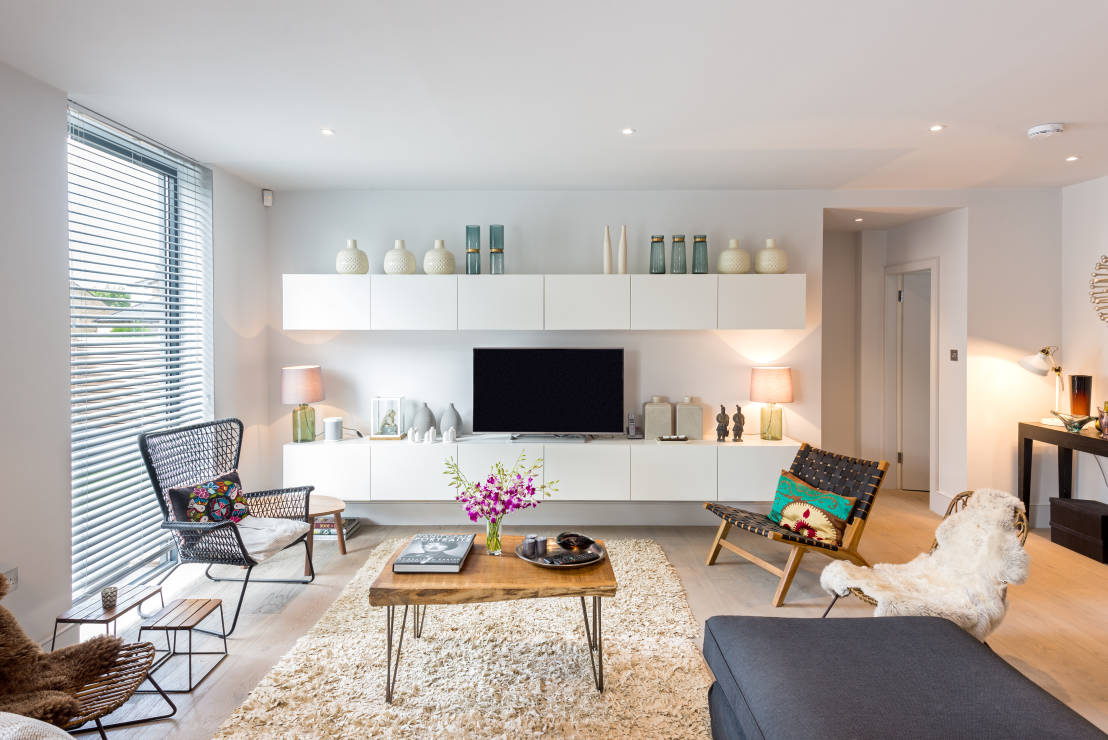 6 consejos para crear la mejor sala de tv. Black Bedroom Furniture Sets. Home Design Ideas