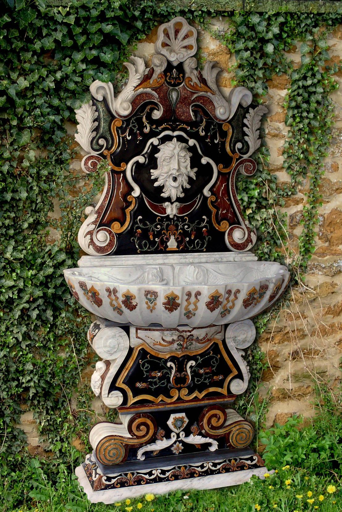 Decorare con l 39 acqua e con le fontane da giardino - Accessori per fontane da giardino ...