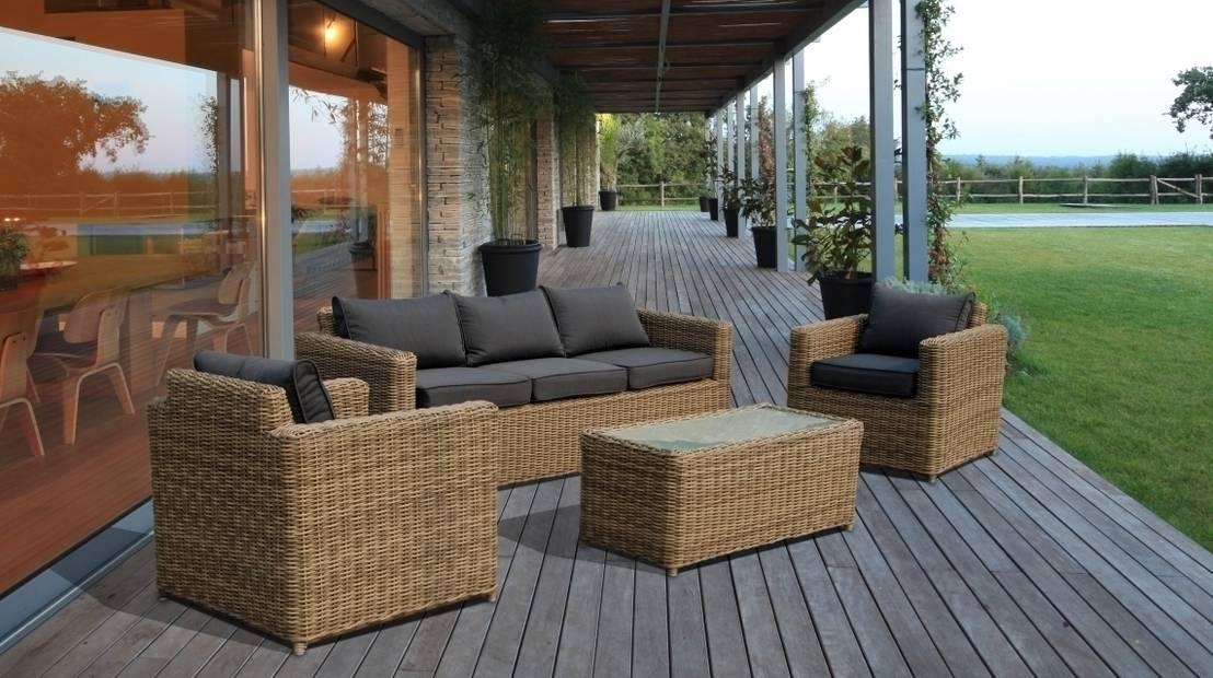 Dieci mobili da giardino in rattan - Rattan giardino ...