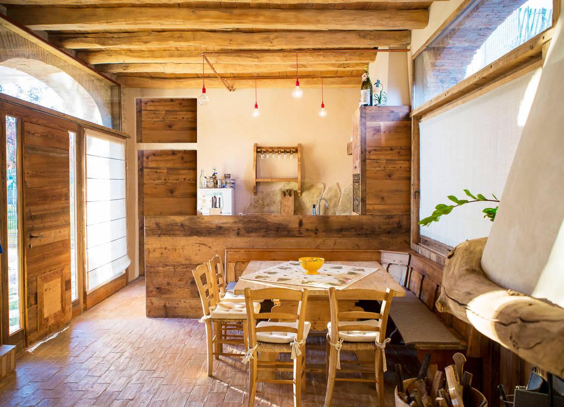 La straordinaria ristrutturazione di una casa di campagna - Idee case rustiche ...