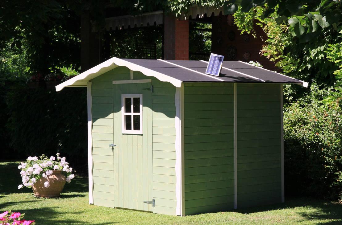 Casette da giardino un mondo da conoscere for Quanto costruire una casetta