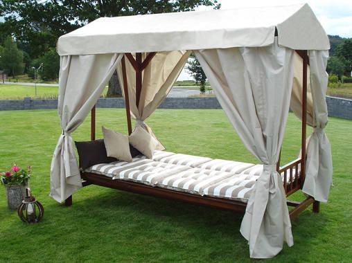 10 camas para jard n a descansar con estilo al aire libre for Camas balinesas para jardin