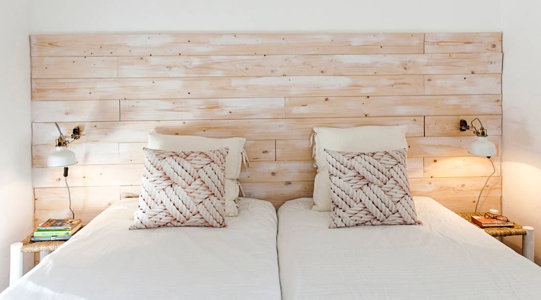 Rec maras para so ar 10 estilos de cabeceras - Como decorar cabeceros de cama ...