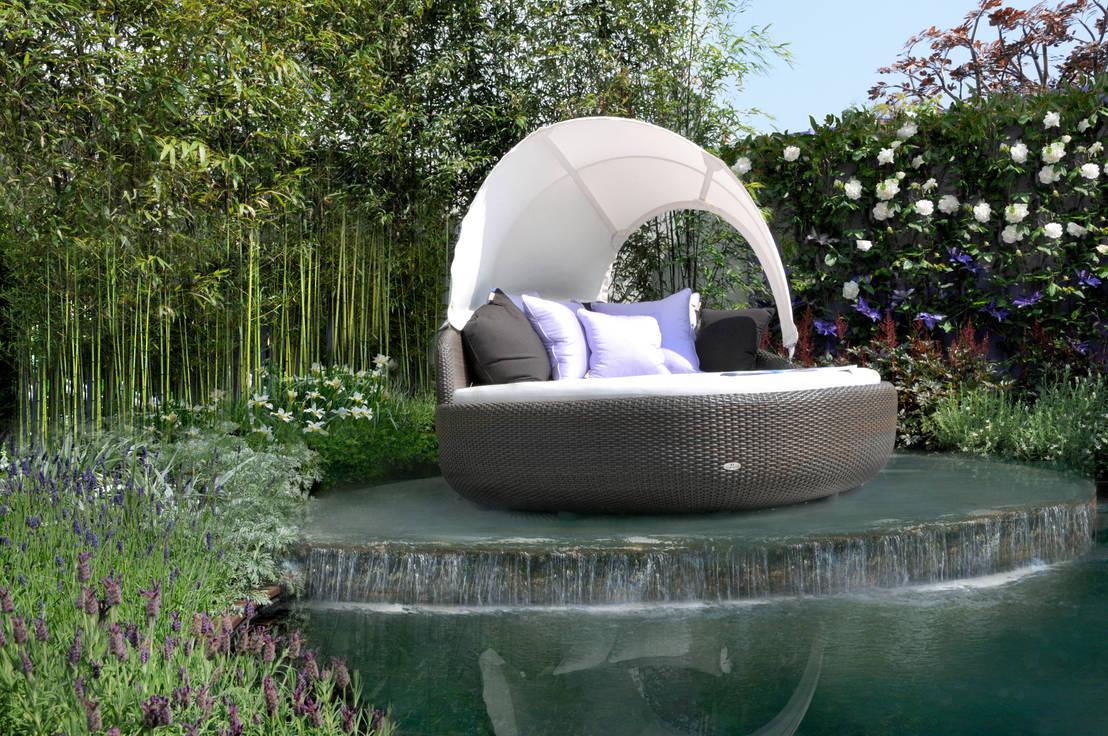 I mobili da giardino in rattan eleganti e naturali for Mobili da giardino rattan