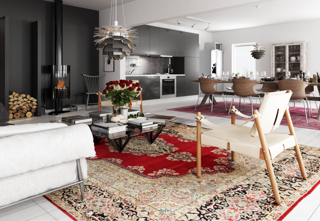 Tappeti orientali il modello perfetto per ciascun stile d for Arredamento casa con la a