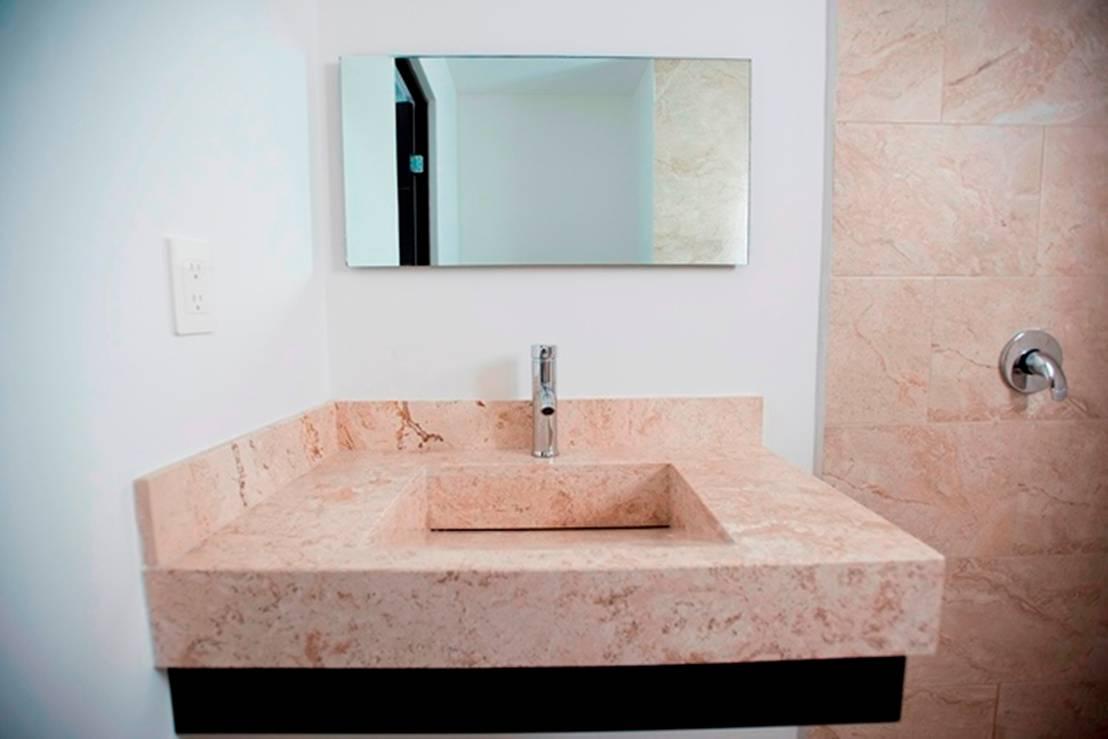 Ba os 10 lavabos peque os sensacionales - Mobiliario para banos pequenos ...