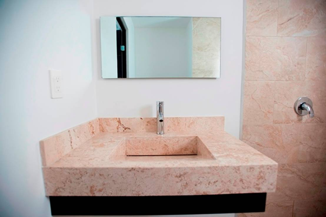 Ba os 10 lavabos peque os sensacionales - Lavabos para banos pequenos ...