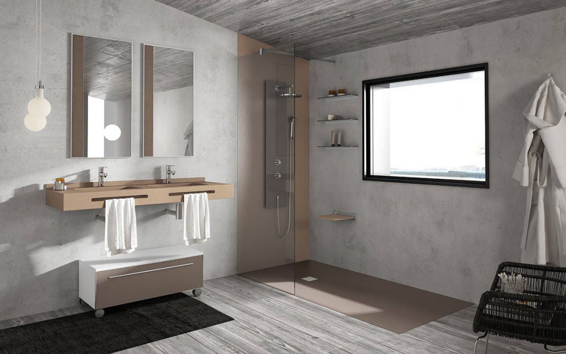 Piatto doccia filo pavimento 10 spunti di design - Le piastrelle del pavimento di un locale ...