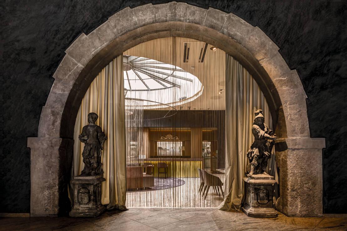 kuno 1408 sterne restaurant rebstock w rzburg von architekten ingenieure haas haas homify. Black Bedroom Furniture Sets. Home Design Ideas