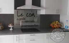 Id E D Co Tendance Avec Les Cr Dences En Verre Imprim Es