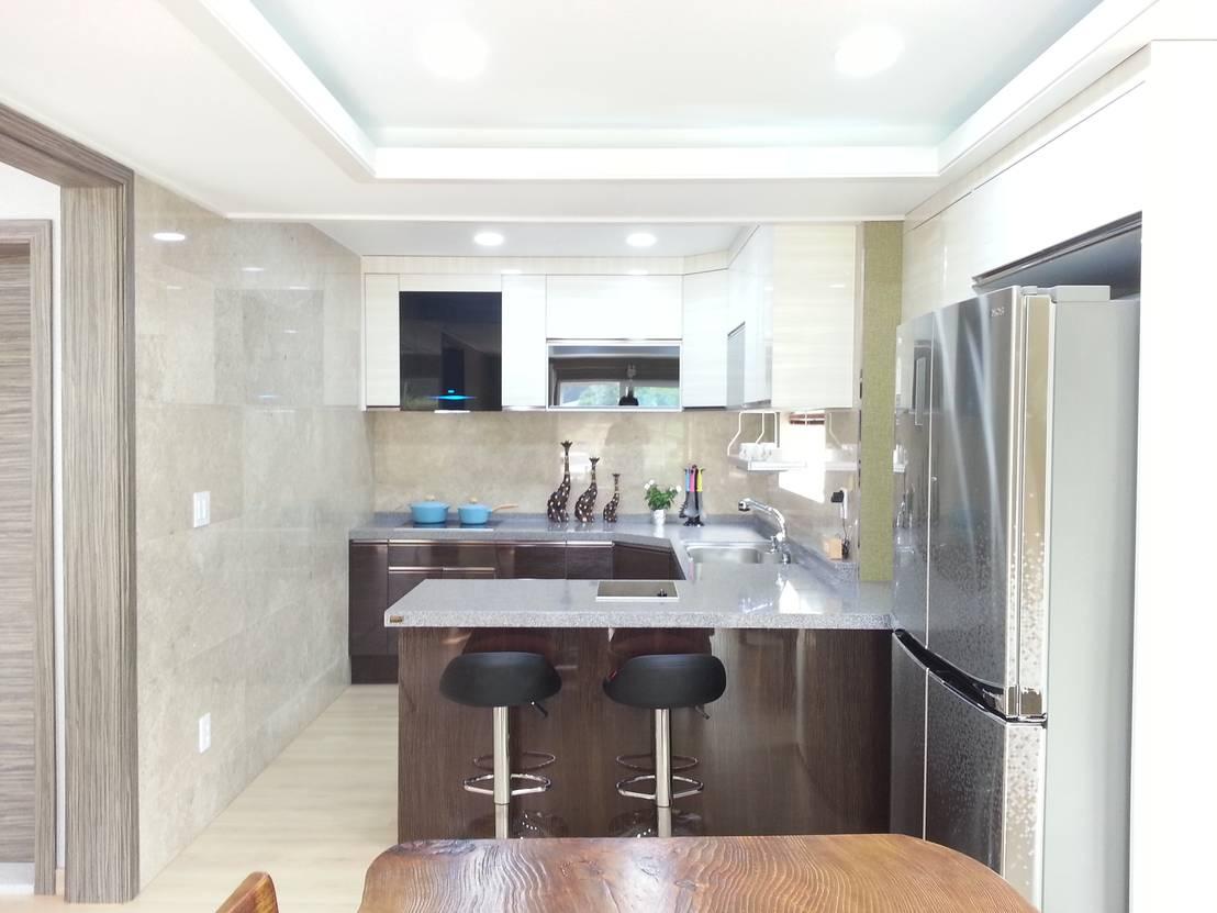 Cocinas modernas 9 barras sensacionales for Barras modernas para living