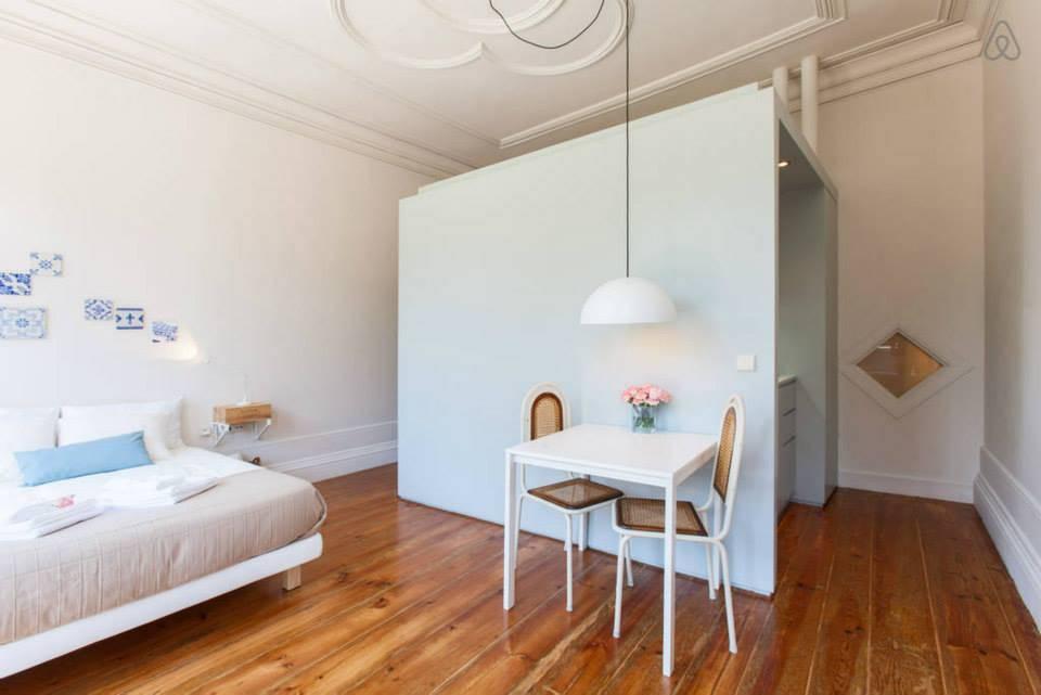 Un apartamento peque o con todo lo necesario for Amueblar apartamento pequeno