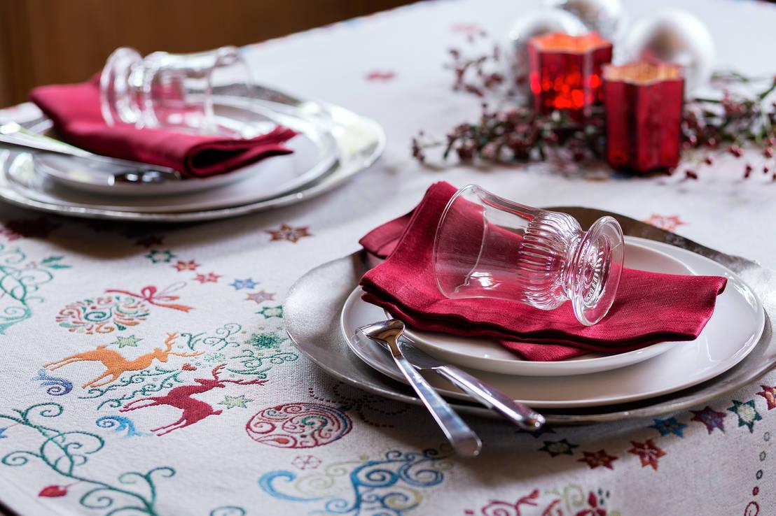 Natale 2015 le idee giuste per decorare cucina e sala da - Decorare la cucina per natale ...