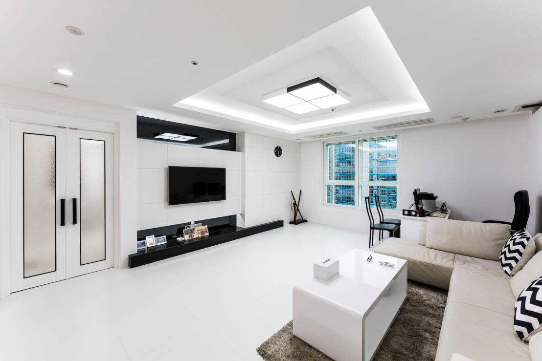 흑과 백이 만드는 아름다움-35평 아파트 인테리어