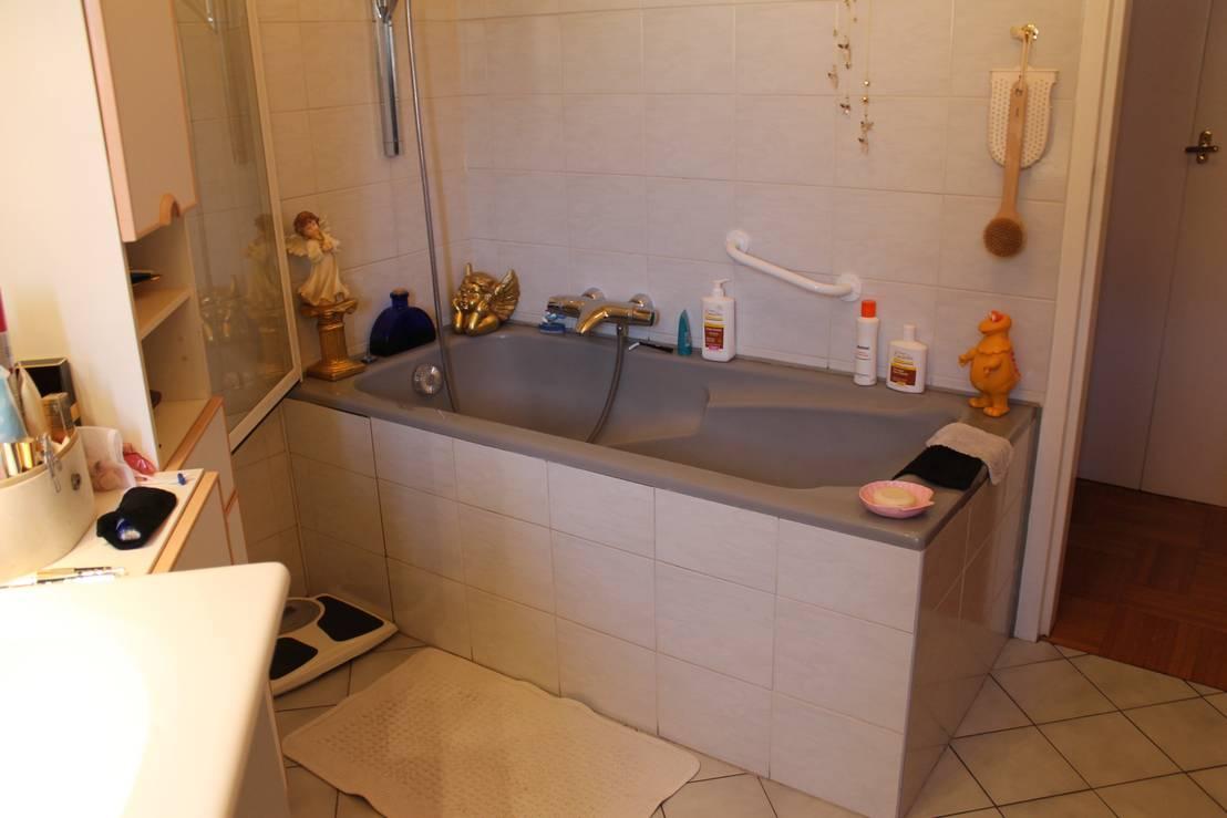 Prima e dopo la ristrutturazione di un bagno tristissimo for Bagno 6 mq