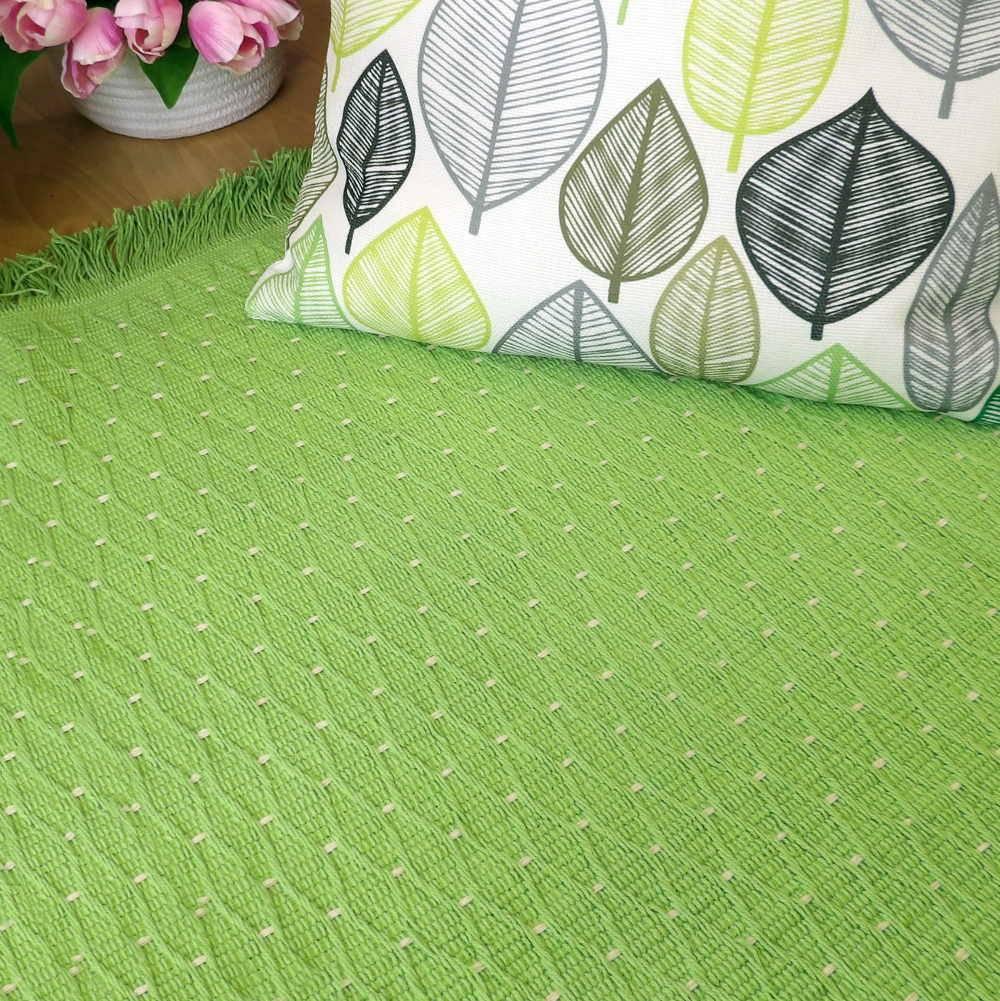 Alfombras de algod n la alternativa alegre ligera y for Alfombra verde para jardin